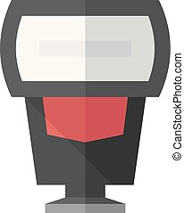 Flat icon - Camera flash