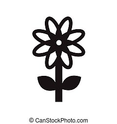 flat icon flower icons