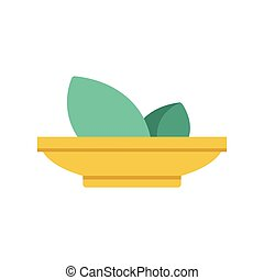 Flat Icon food and herbs icon