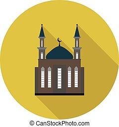 flat icon mosque