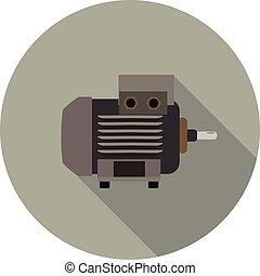 flat icon motor