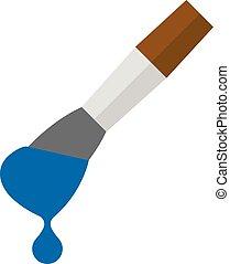 Flat icon - Paint brush