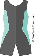 Flat icon - Triathlon suit