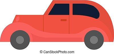 Flat icon - Vintage car