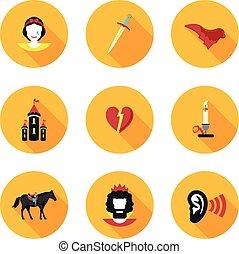 flat icons Othello