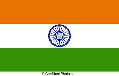 flat indian flag