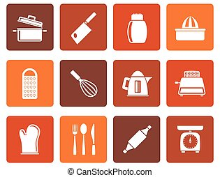 household Utensil Icons