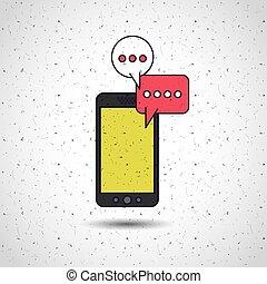 flat line icon design
