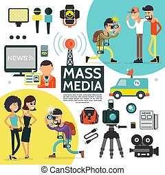 Flat Mass Media Composition - Flat mass media composition...