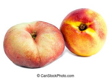 flat peach and nectarine