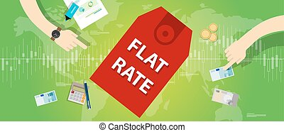 flat rate interest label finance discount  price