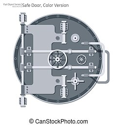 Flat Safe and Vault Door.