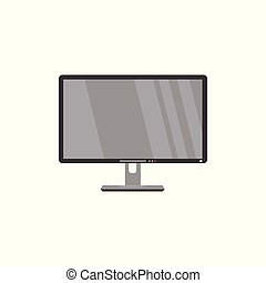 Flat screen LCD, widescreen TV, television, HDTV