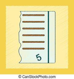 flat shading style icon exam score excellent