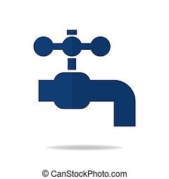 Crosshair flat vector icon. modern illustration of ...