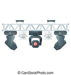flat style stage metal truss concert lighting equipment - ...