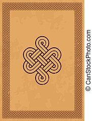 Celtic knot.