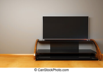 Flat TV screen