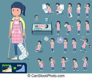 flat type Childminder women_sickness