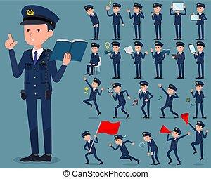 flat type police men 2