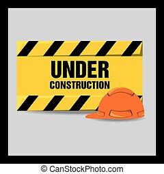 flat under construction warning