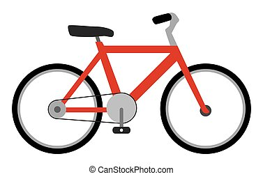 Flat Vector Bicycle