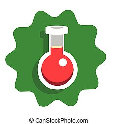 Flat vector icon for web design