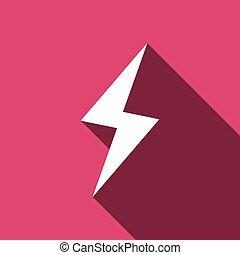 Flat vector Lightning icon