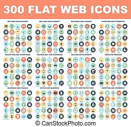 Flat Web Icons