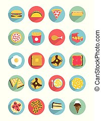 Flat_Food_icons
