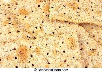 flatbread, chiudere, cracker, vista