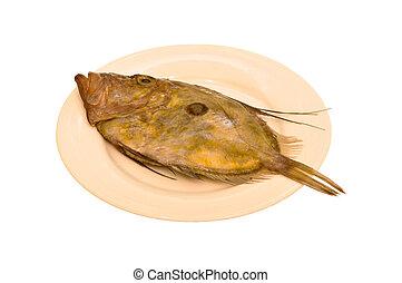 Flatfish - Strange and eerie, a flatfish