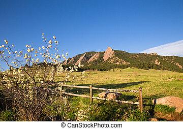 Flatirons Colorado