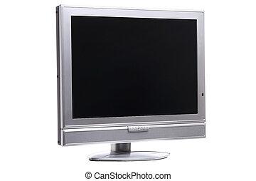 Flatscreen right - Flatscreen TV clipping path included