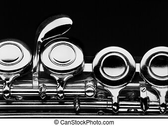 flauta, -, parte