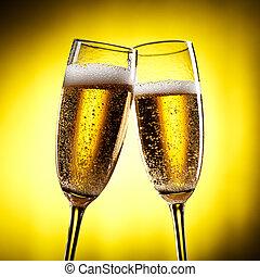 flautas champaña