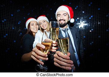 flautas champanha