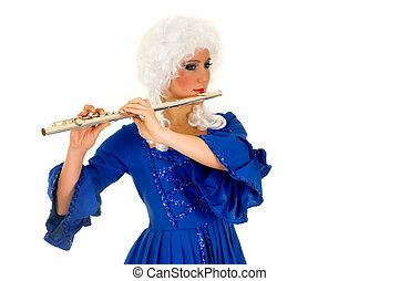 flautista, barroco