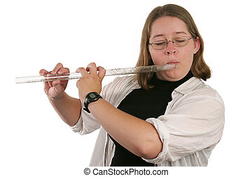 flautista, estudiante