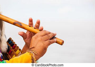 flauto, gioco