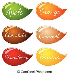 Flavor Icon set for label