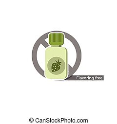Flavoring free label