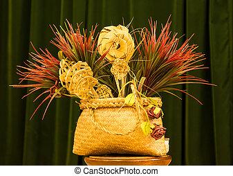 Flax Phant Basket