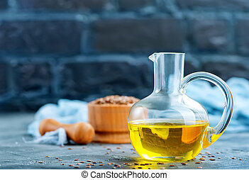 flax seed and oil