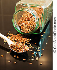 Flax seed is very healthy for our digestion and nutrition.