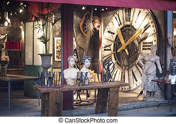 flea market clock face