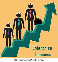 flecha, empresa / negocio