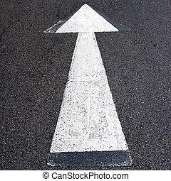 flechas, camino