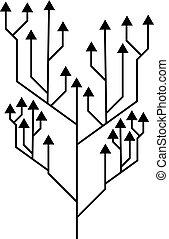 flechas, direccional