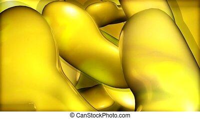 flecke, gelber